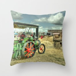 Traction Thresh Throw Pillow