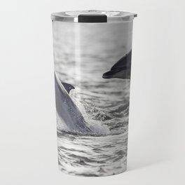 Playful dolphins Travel Mug