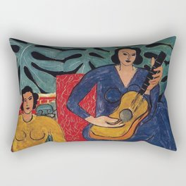 Henri Matisse - Music - Exhibition Poster Rectangular Pillow