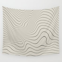 Line Distortion #3 Wall Tapestry