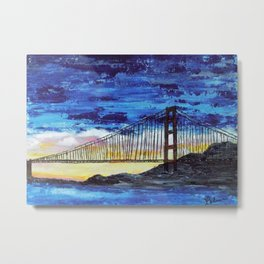Gateway to the Pacific Metal Print
