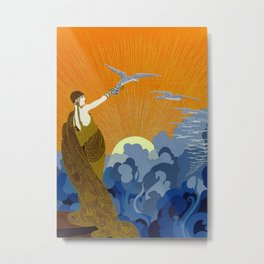 """Wings of Victory"" Art Deco Design Metal Print"