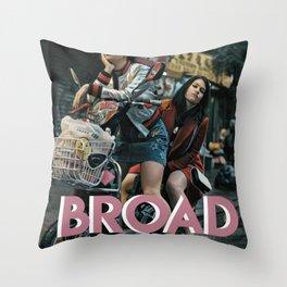 Broad City Throw Pillow