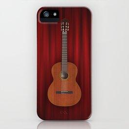 Flamenco Spanish Guitar Music iPhone Case