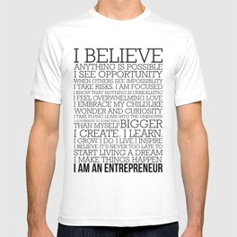 Entrepreneur Manifesto T-shirt