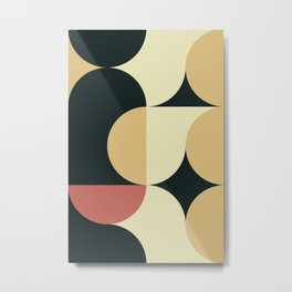 Abstract Geometric Artwork 66 Metal Print
