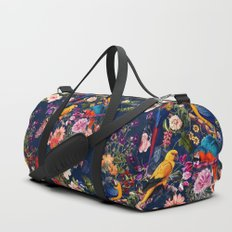 FLORAL AND BIRDS XII Duffle Bag