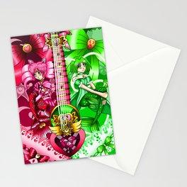 Sailor Mew Guitar #10 - Sailor Chibi Moon & Mew Retasu Stationery Cards