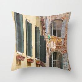 Clean Sheets, Venice Throw Pillow