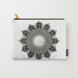 Astrology Signs Mandala Carry-All Pouch