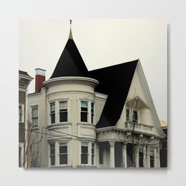 Ghostly Gothic Metal Print