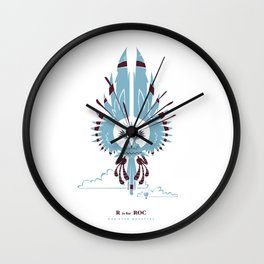 R is for Roc Wall Clock