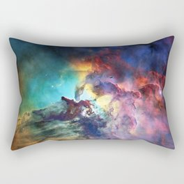 Lagoon Nebula Rectangular Pillow