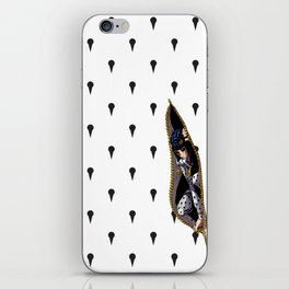 JoJo - Bruno Bucciarati Pattern [Zipper Ver.] iPhone Skin