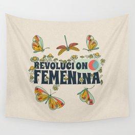Revolución Femenina Wall Tapestry