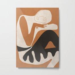 Abstract Art Figure Metal Print