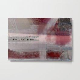 Zen Sunrise - Contemporary Abstract Metal Print