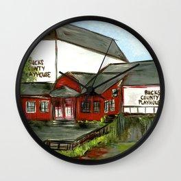 Bucks County Playhouse Wall Clock