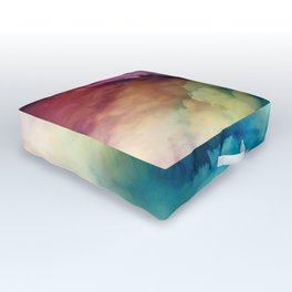 Rainbow Dreams Outdoor Floor Cushion