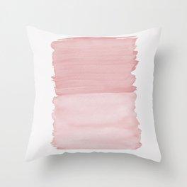 Blush Abstract Minimalism #1 #minimal #ink #decor #art #society6 Throw Pillow