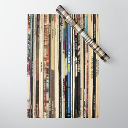Classic Rock Vinyl Records Wrapping Paper