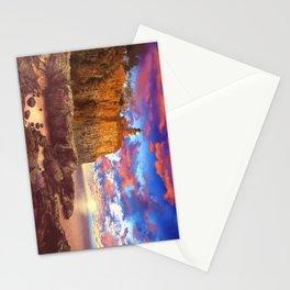 lighthouse landscape Stationery Cards