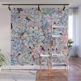succulent garden 3 Wall Mural