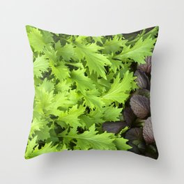 Spicy Mix Throw Pillow