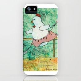 Ballerina Chicken iPhone Case