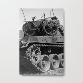 Russian Tanks Metal Print