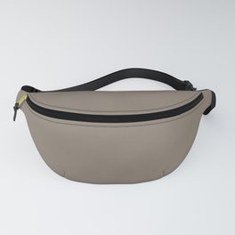 SOLID TAUPE COLOR Fanny Pack