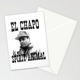 El Chapo is my spirit animal Stationery Cards