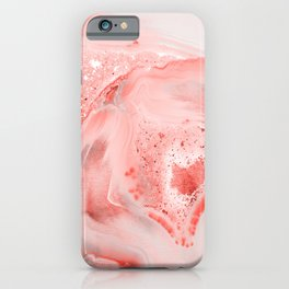 Coral Agate iPhone Case