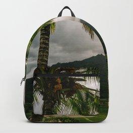 Hanalei Valley Lookout Kauai Hawaii | Tropical Island Nature Coastal Travel Photography Print Backpack