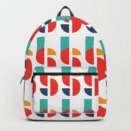 Bauhaus Kandinsky Geometry Typeface Backpack