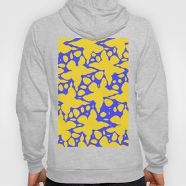 Asymmetry collection: abstract flowers in the water Hoody