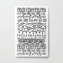 Stress Relief Timeline, II Metal Print