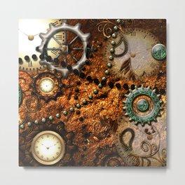 Steampunk i Metal Print