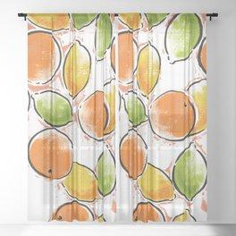 citrus 2 Sheer Curtain