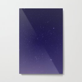 Violet Stars in the Salish Sea Metal Print