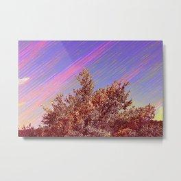 Comet Sky Metal Print