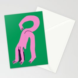 The Yoga Pose Stationery Cards