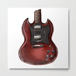 Eletric guitar Metal Print
