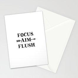 Focus Aim Flush Stationery Cards