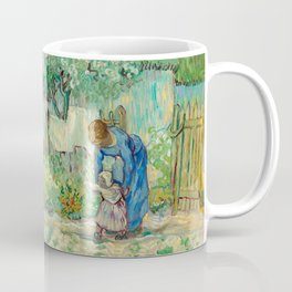 Vincent Van Gogh - First Steps, after Millet Coffee Mug