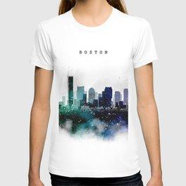 Boston City Skyline T-shirt