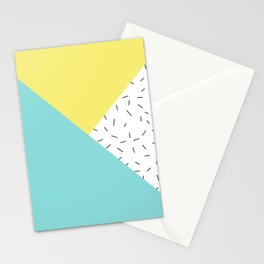 Geometry love Stationery Cards
