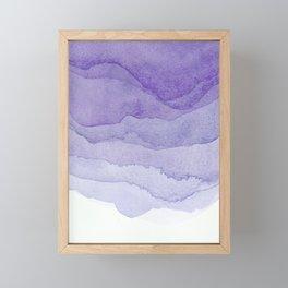 Lavender Flow Framed Mini Art Print