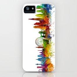 London England Skyline Cityscape iPhone Case