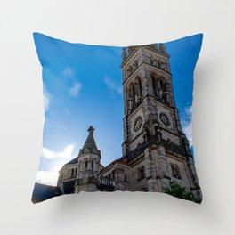 Stuttgart : Matthäuskirche Throw Pillow